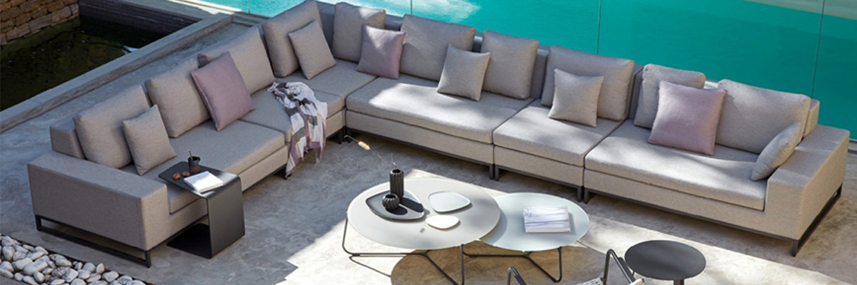 Manutti is a designer and manufacturer of elegant and exclusive outdoor  furniture with a