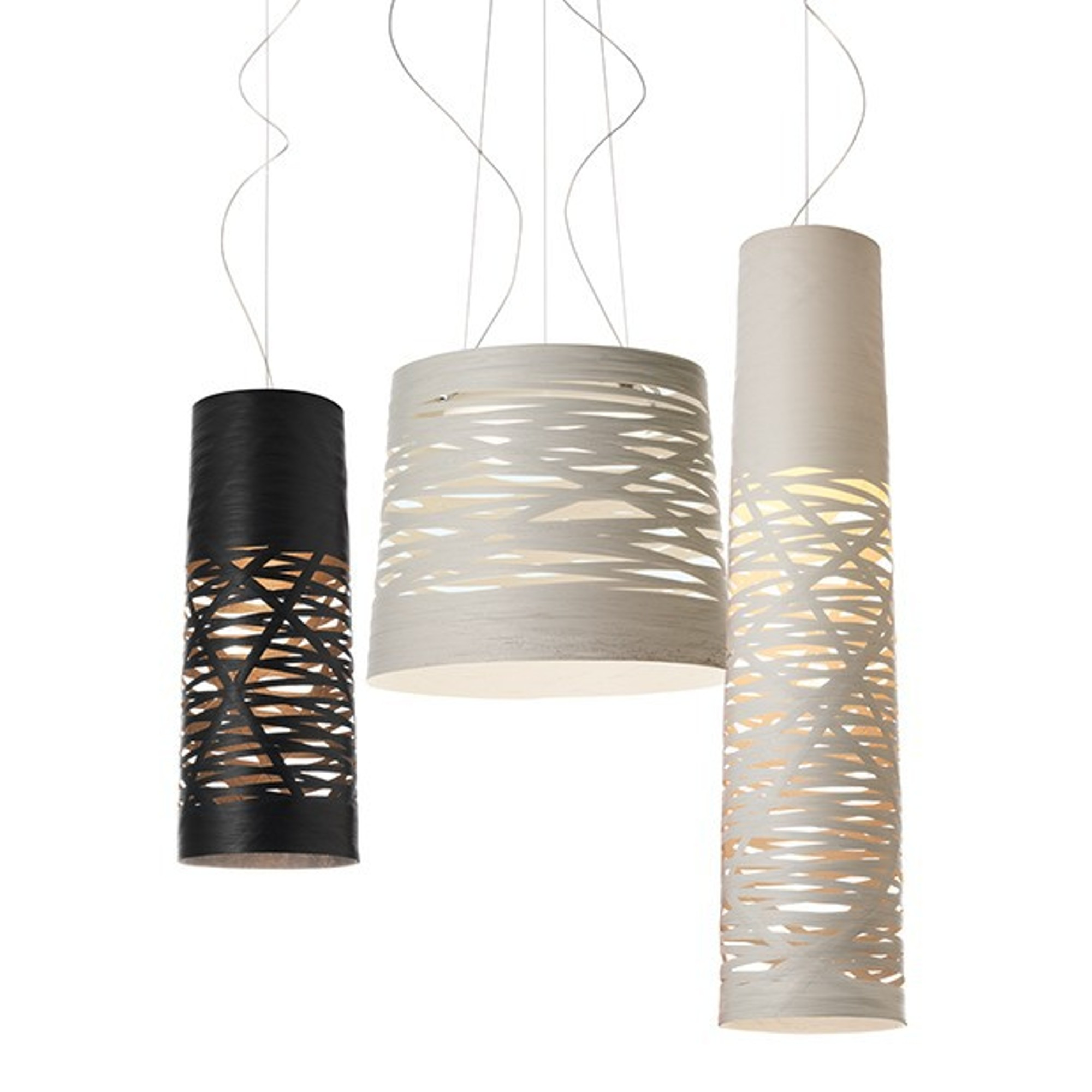 TRESS SUSPENSION LAMP, by FOSCARINI