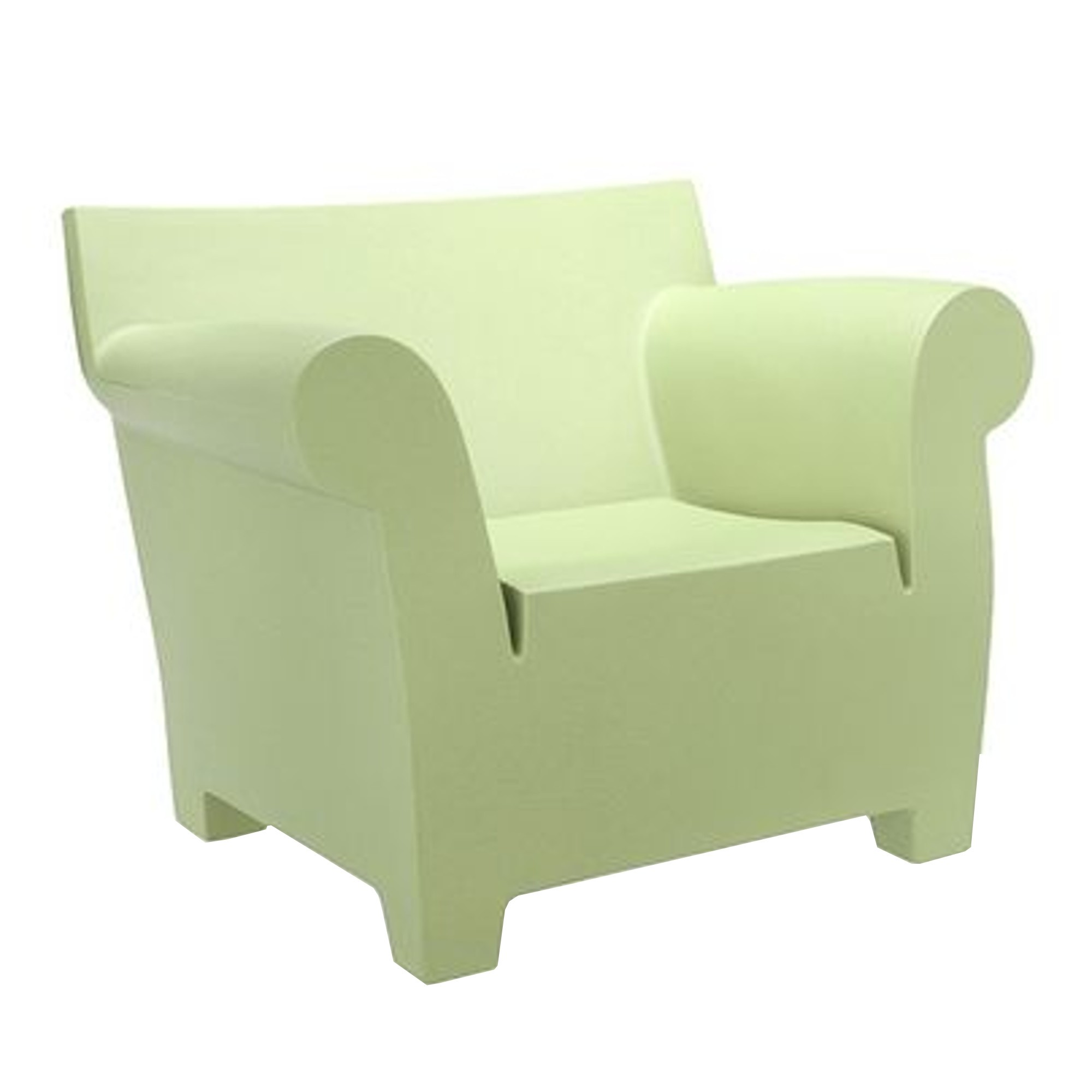 Kartell Poltrona Bubble Club.Bubble Club Armchair