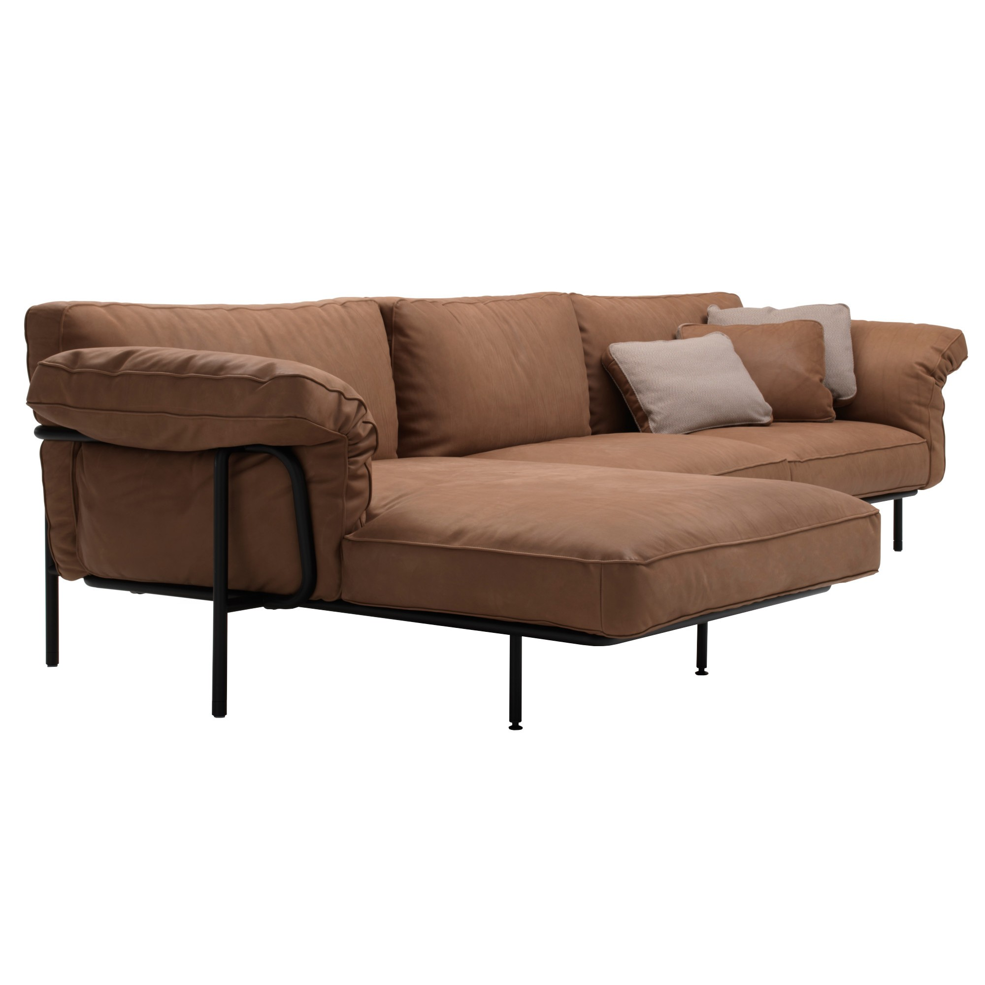 Divano Sceslong.Ds 610 Sofa With Chaise Longue
