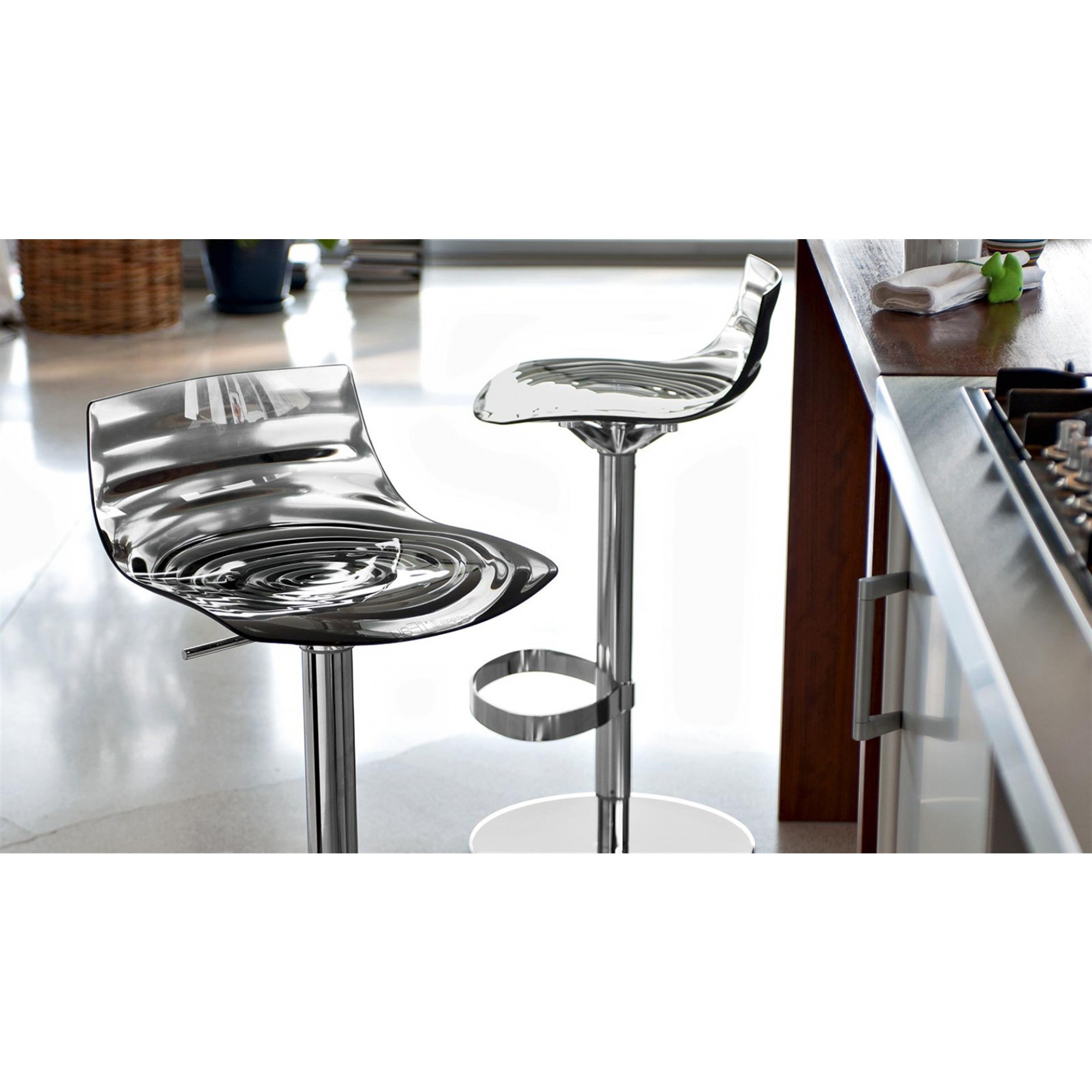 L\'EAU STOOL WITH GAS LIFT | Stools | Seats | CONNUBIA BY CALLIGARIS ...
