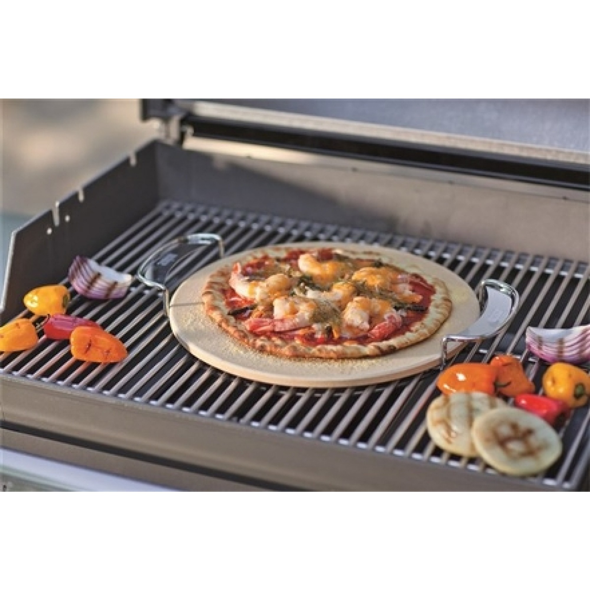Gourmet Bbq System Pizza Stone Accessories Cooking