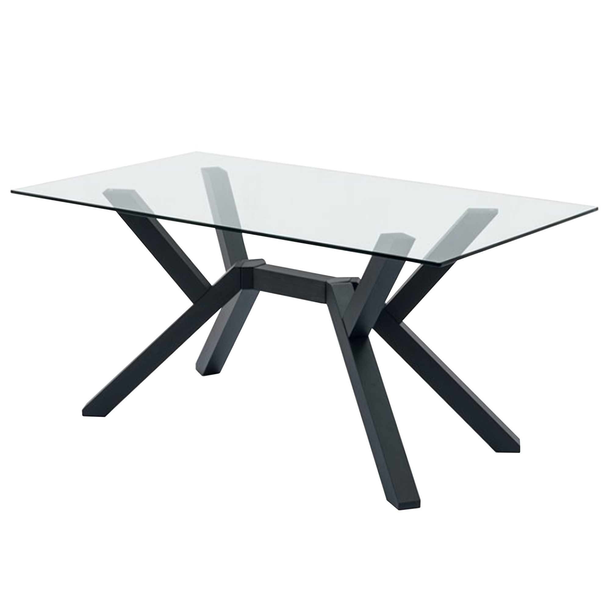 Tavolo Rettangolare In Vetro.Mikado Fixed Table Fixed Tables Tables Connubia By