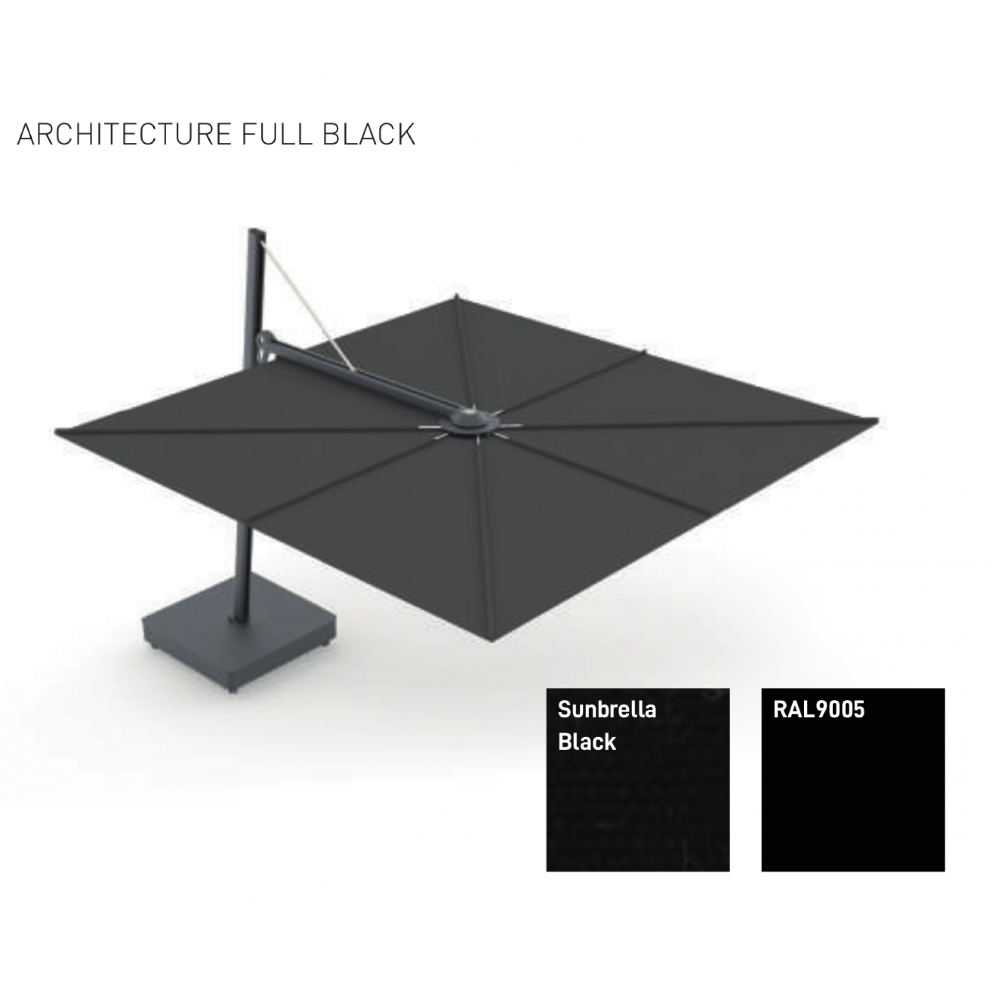 SPECTRA UX ARCHITECTURE FULL BLACK, by UMBROSA