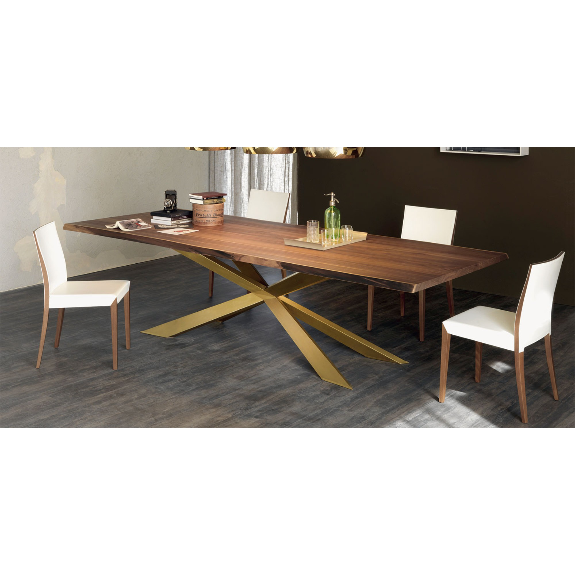 Spyder Wood Fixed Tables