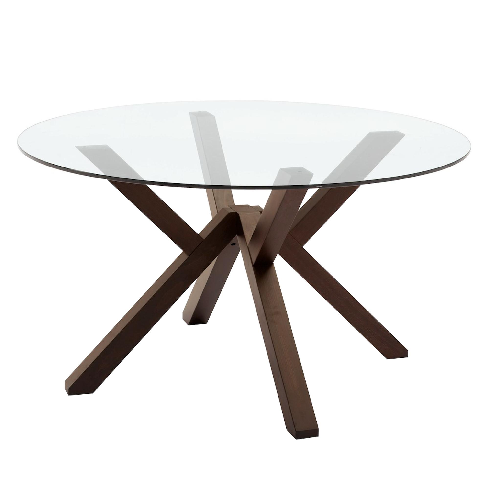 Tavolo Tondo In Vetro.Mikado Round Table Fixed Tables Tables Connubia By
