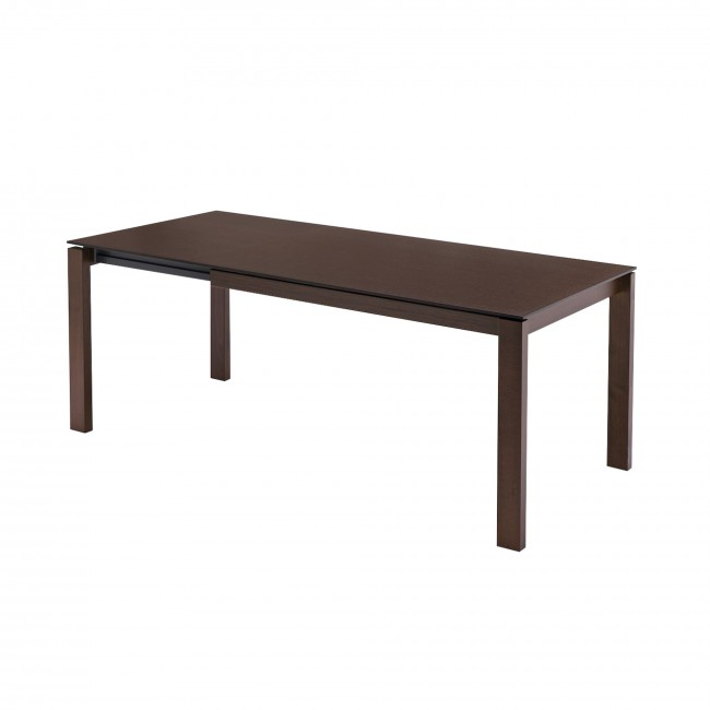 Baron extensible table connubia by calligaris brand for Calligaris baron table