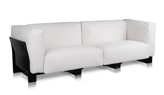 Pop duo sofa linear sofas armchairs and sofas kartell