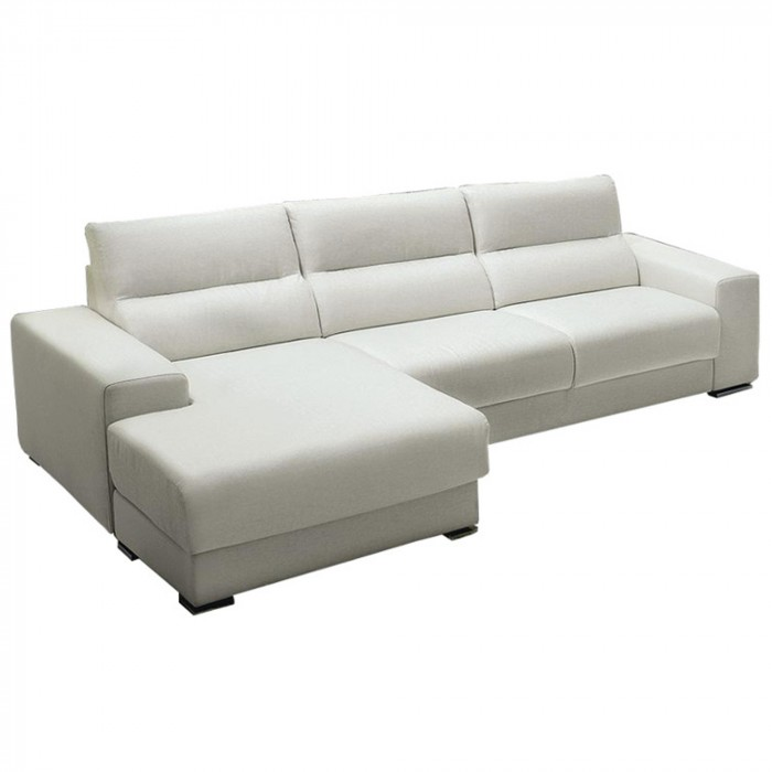 CONFORT SOFA WITH CHAISE LONGUE By SPAGNOL