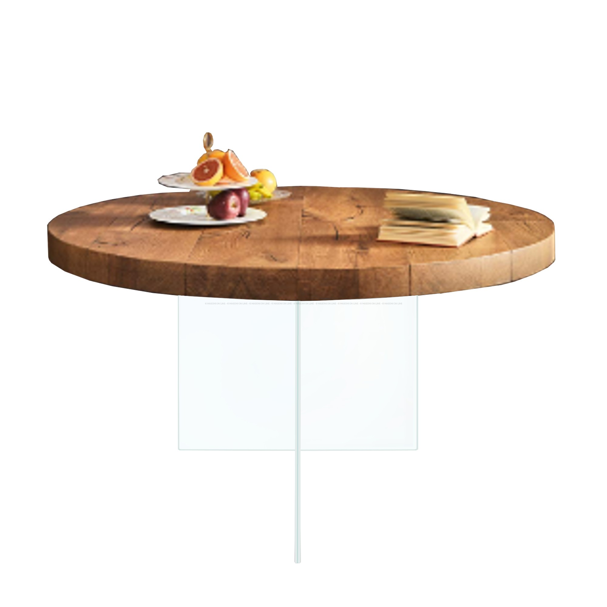 AIR WILDWOOD ROUND TABLE | Fixed Tables | Tables | LAGO - Masonionline