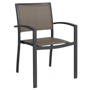 MEDITEX CHAIR WITH ARMRESTS , by MASONI OUTDOOR