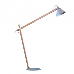 SLOPE FLOOR LAMP WITH ARM, by MINIFORMS