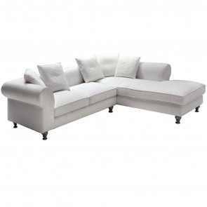 RUBIN SOFA WITH CHAISE LONGUE, by SPAGNOL