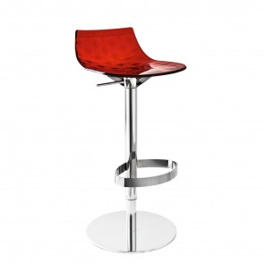 ICE STOOL WITH GAS LIFT, by CONNUBIA BY CALLIGARIS