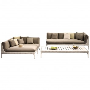 MU MODULAR SOFA, by DEDON
