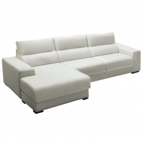 CONFORT SOFA WITH CHAISE LONGUE, by SPAGNOL