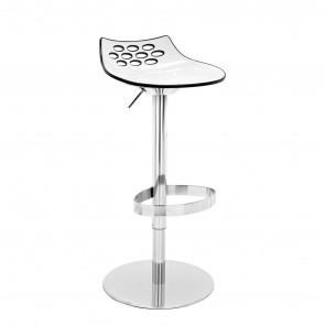 JAM STOOL WITH GAS LIFT, by CONNUBIA BY CALLIGARIS