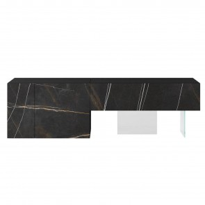 0701 XGLASS SIDEBOARD, by LAGO