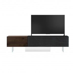 0749 XGLASS TV UNIT, by LAGO