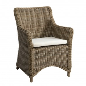SAN DIEGO SMALL ARMCHAIR, by MANUTTI