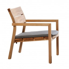 KOS TEAK CLUB ARMCHAIR , by TRIBU