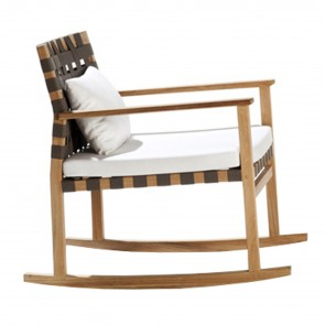 VIS À VIS ROCKING CHAIR, by TRIBU