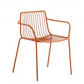 NOLITA ARMCHAIR WITH LOW BACKREST, by PEDRALI