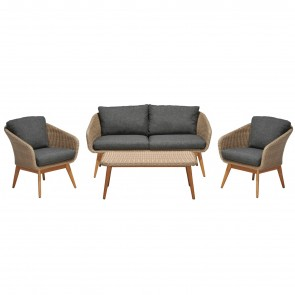 AMELAND SET LOUNGE, by MASONI OUTDOOR