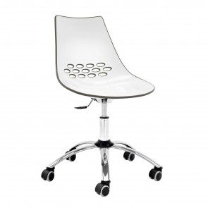 JAM CHAIR WITH CASTORS, by CONNUBIA BY CALLIGARIS