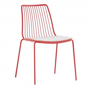 NOLITA CHAIR WITH HIGH BACKREST, by PEDRALI