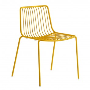 NOLITA CHAIR WITH LOW BACKREST, by PEDRALI