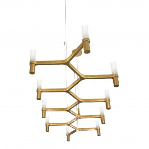 CROWN PLANA SUSPENSION CHANDELIER, by NEMO