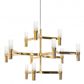 CROWN SUSPENSION CHANDELIER, by NEMO