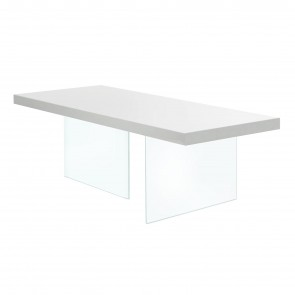AIR LACQUERED FIXED TABLE, by LAGO