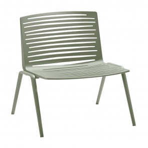 ZEBRA LOUNGE ARMCHAIR, by FAST