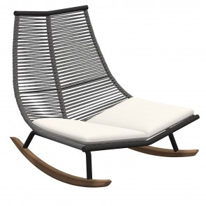 LAZE ROCKING CHAIR, by RODA