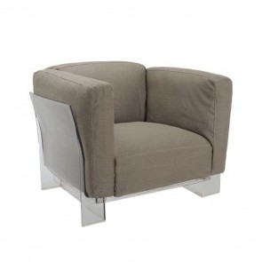 POP DUO ARMCHAIR, by KARTELL