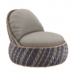 DALA LOUNGE ARMCHAIR, by DEDON