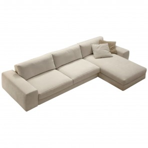 TIME SOFA WITH CHAISE LONGUE, by SPAGNOL