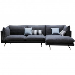SWING SOFA WITH CHAISE LONGUE, by DALL'AGNESE