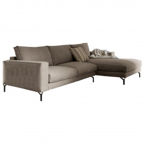FLY AIR SOFA WITH CHAISE LONGUE, by DALL'AGNESE