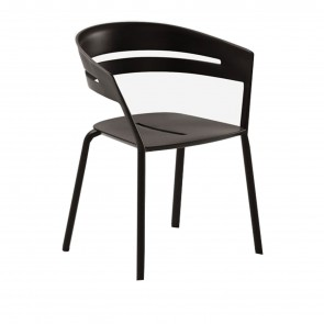 RIA ALUMINUM DINING CHAIR, by FAST