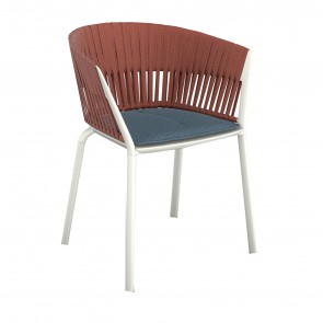 RIA WOVEN ROPE DINING CHAIR, by FAST