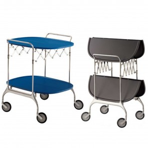 GASTONE FOLDING TROLLEY, by KARTELL