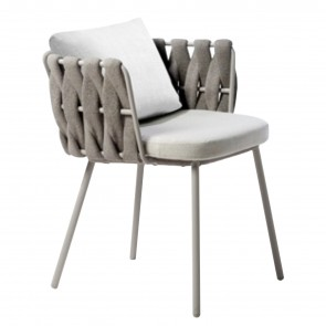 TOSCA CHAIR WITH ARMRESTS, by TRIBU
