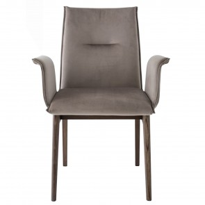 MAYA STRAIGHT LEGS ARMCHAIR, by CONNUBIA BY CALLIGARIS