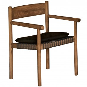 TIBBO CHAIR WITH ARMREST, by DEDON