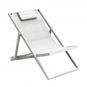 TOUCH DECK CHAIR, by TALENTI +39