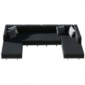 LAZY MODULAR SOFA, by ROYAL BOTANIA