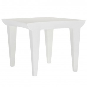 BUBBLE CLUB WHITE COFFEE TABLE, by KARTELL